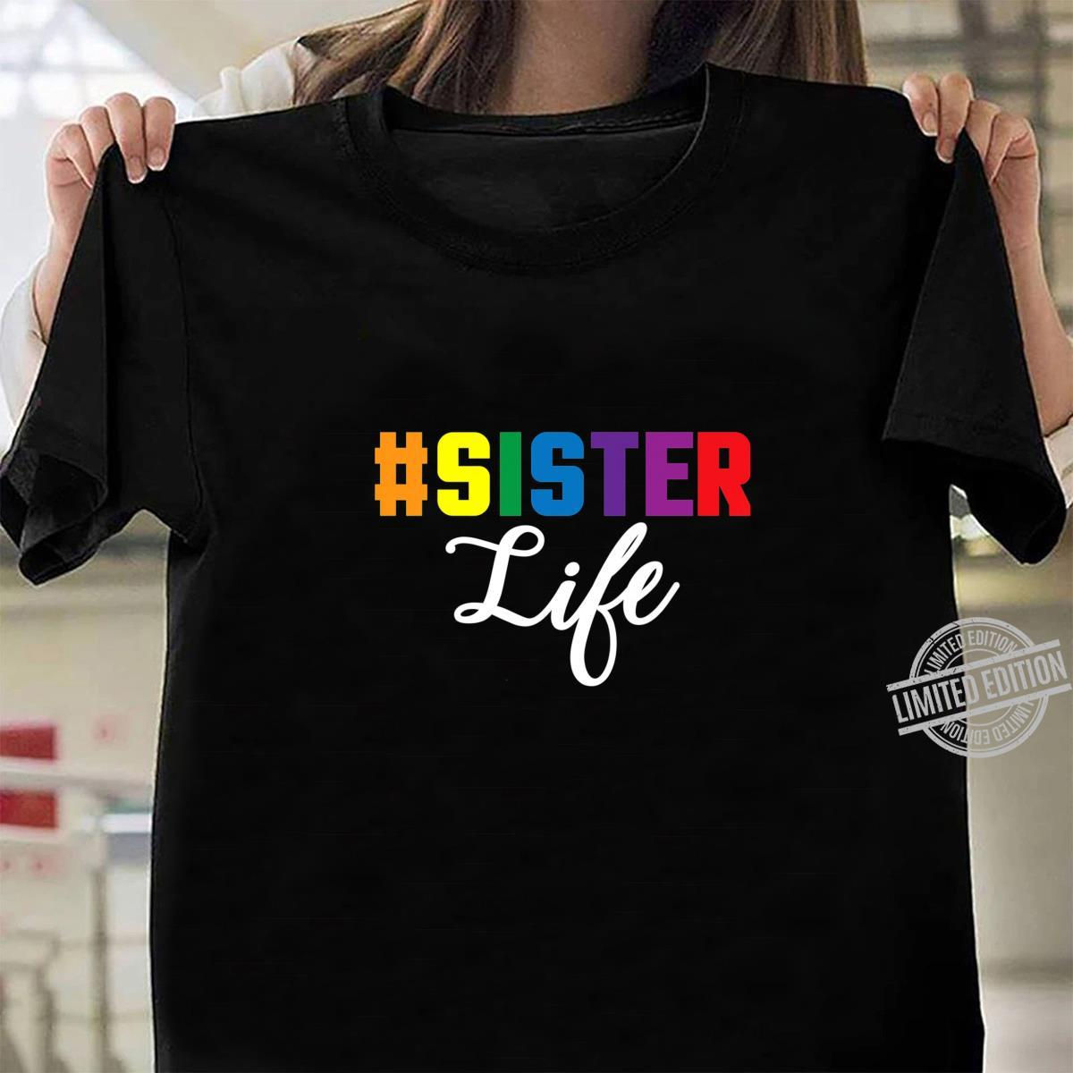 # Sister Life Best Sister Ever Favorite Sister Shirt ladies tee