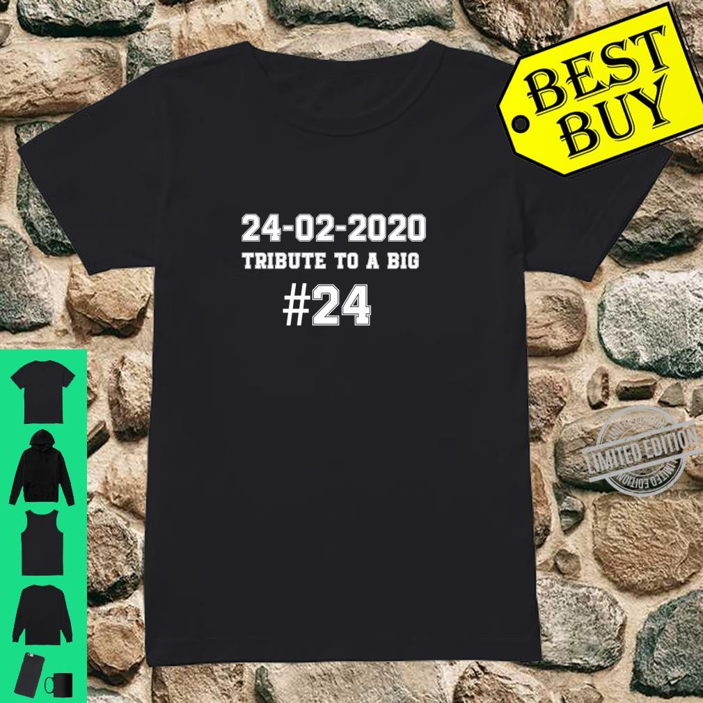 #24 TRIBUTE A TO BIG 2002.2020. #24 Shirt ladies tee