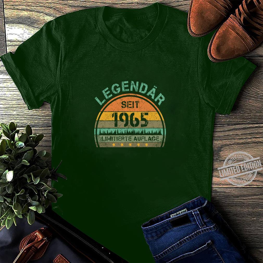 55. Geburtstag 55 Jahre Legendär 1965 Limitierte Auflage Shirt long sleeved