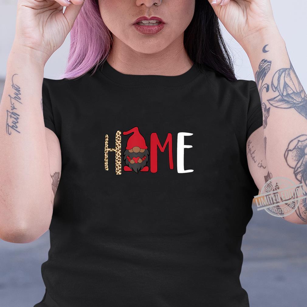 Afroamerikaner Gnome Home Valentines Melanin King Shirt