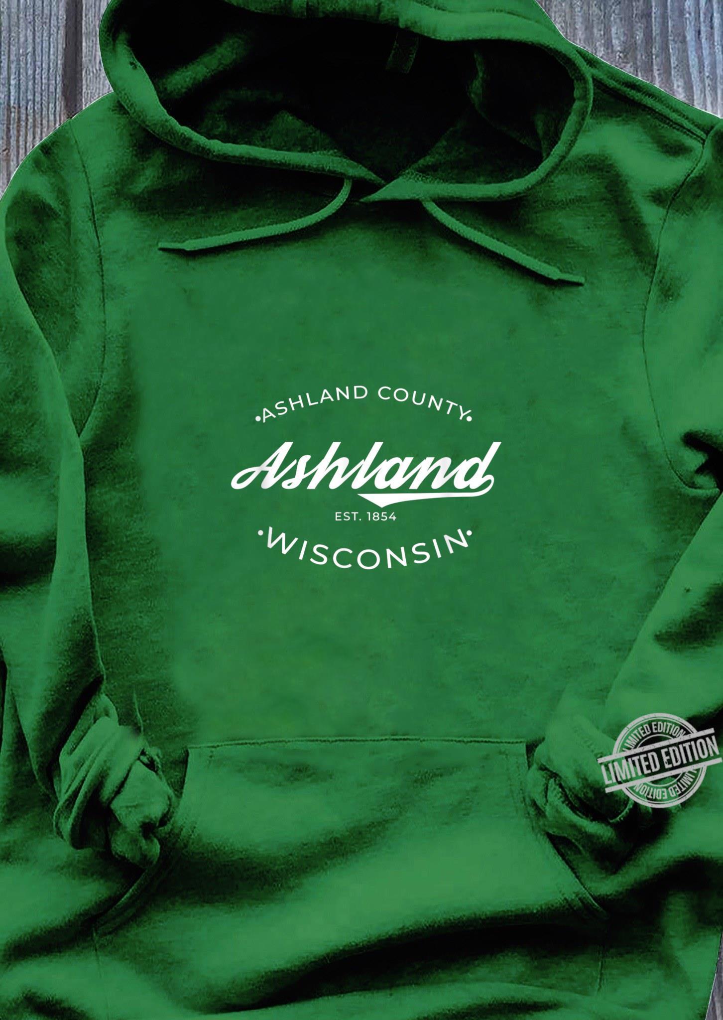 Ashland Wisconsin Retro Logo Shirt hoodie