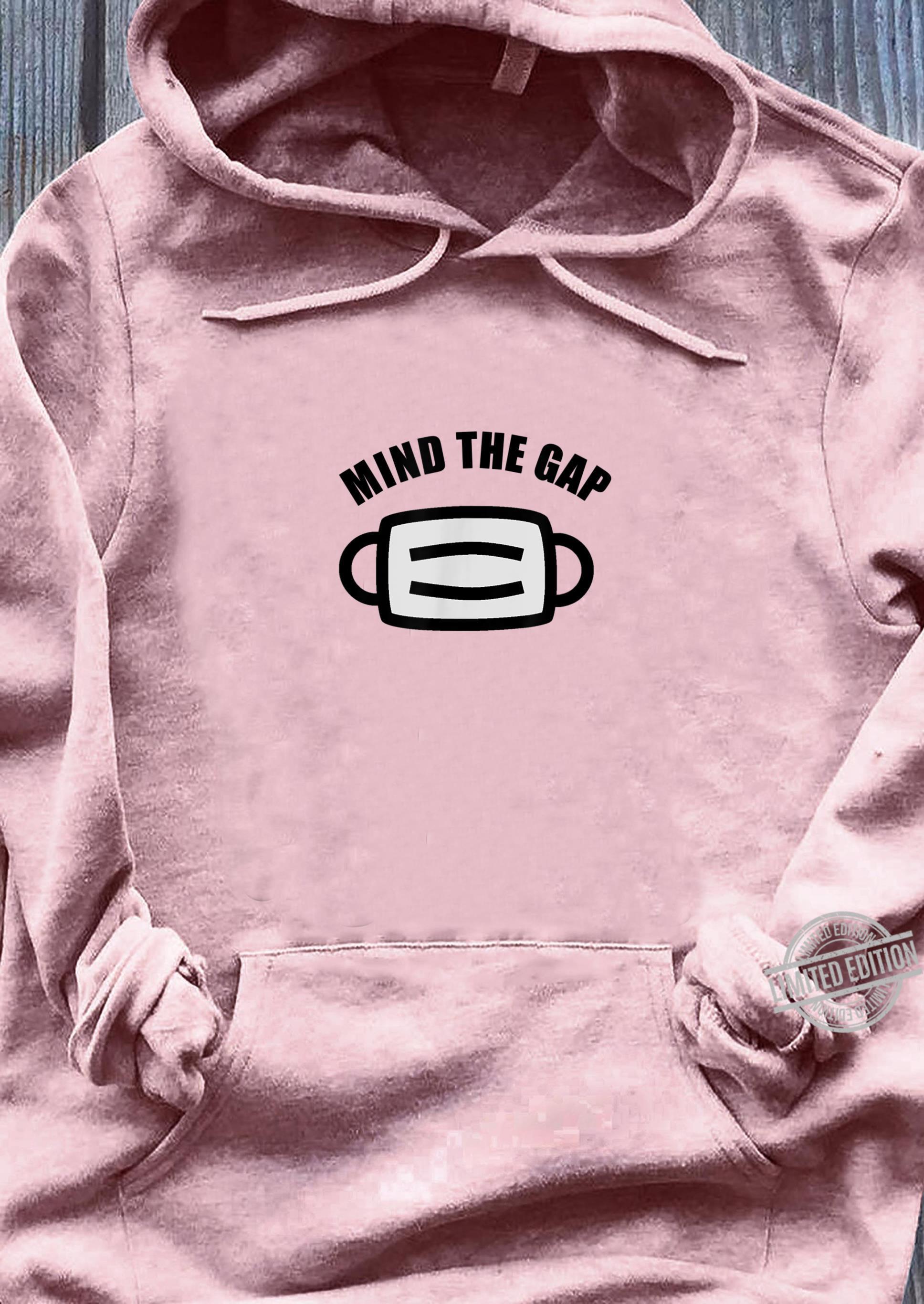 Breathing Mask Mind The Gap Health Awareness Shirt ladies tee