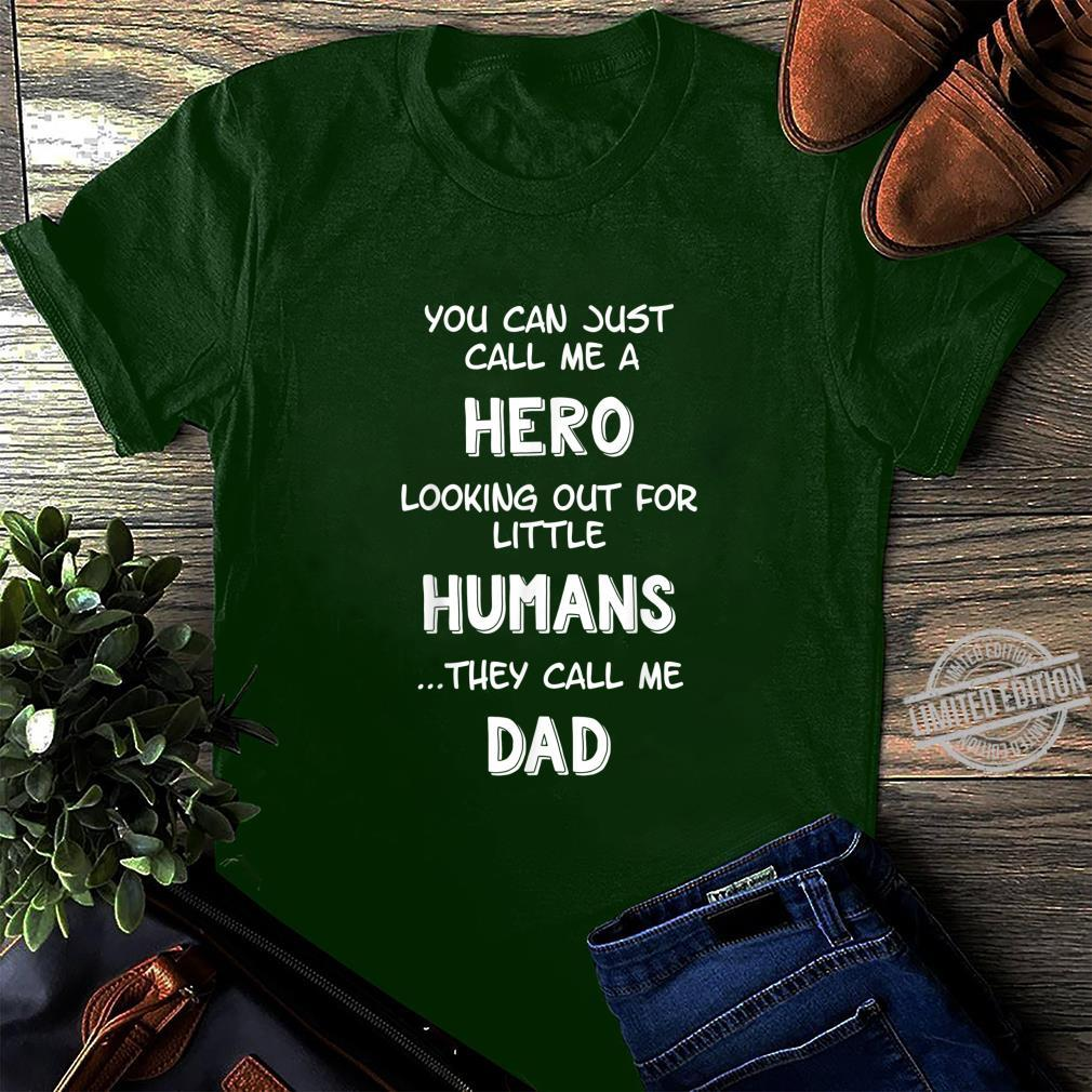 Funny Father's Day For Dad From Wife Son Daughter Shirt long sleeved