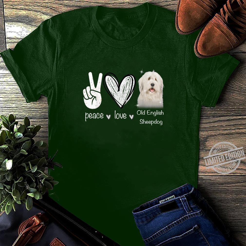 I Love Heart Old English Sheepdogs Sweatshirt