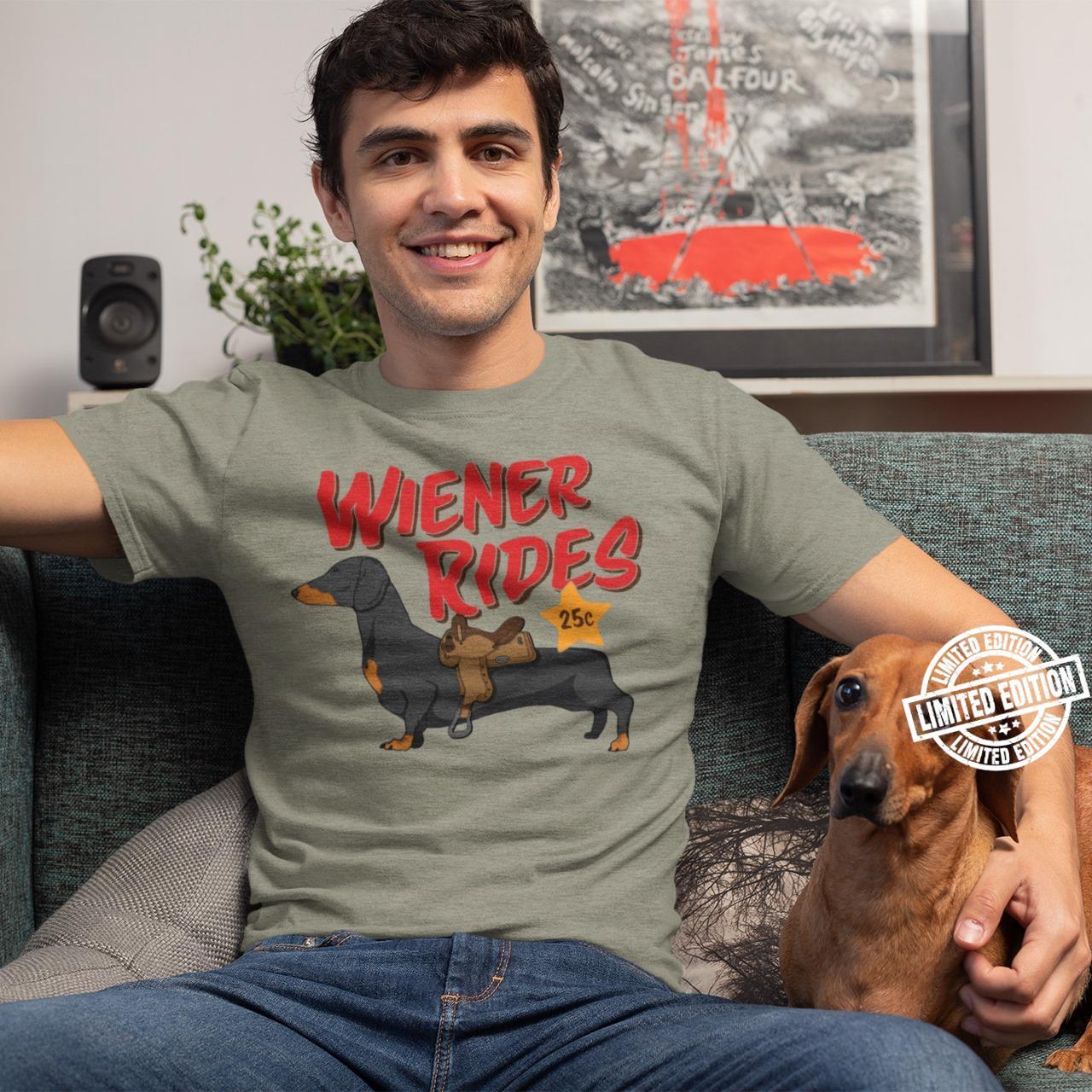 Wiener rides 25c shirt