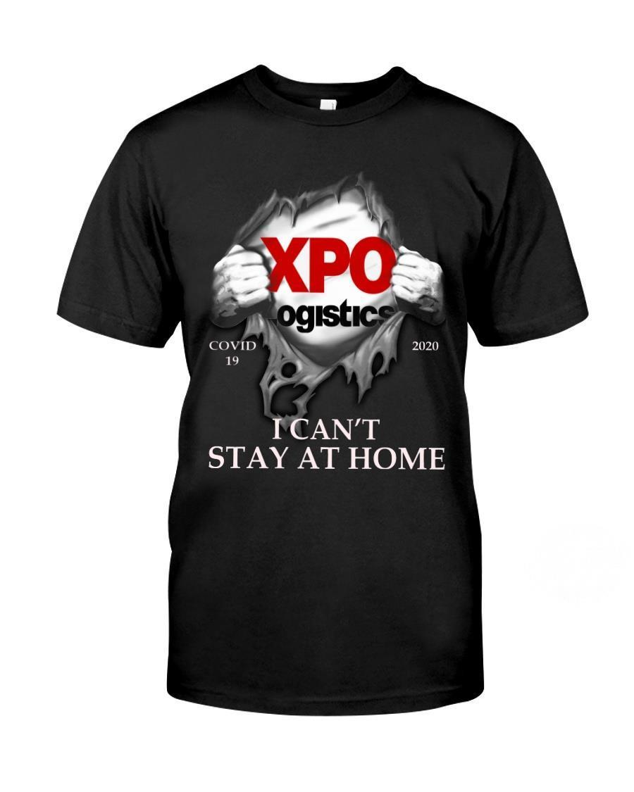 Xpo logistics i can't stay at home shirt